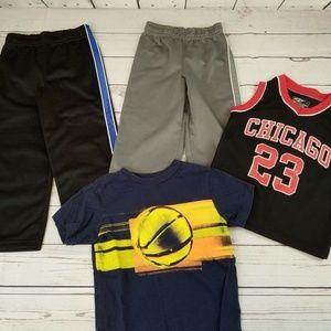 Other - Lot of 4 peices boys Size 4 pants, shirts